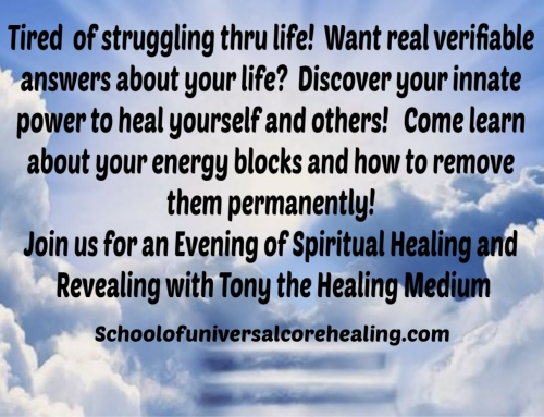 Spiritual Healing Leads To Clarity And Freedom To Be In Control OF Your Life!