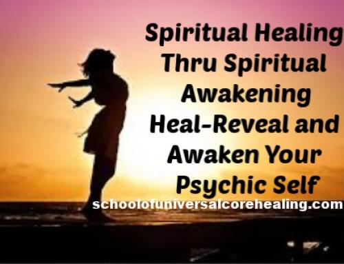 Spiritual Healing thru Spiritual Awakening